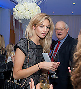 TAMSIN EGERTON; MICHAEL EGERTON, English National Ballet's party before performance of the ' The Nutcracker. St. Martin's Lane Hotel. London 14 December 2011.