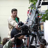 Ben Affleck in and around Boston,MA directing Gone Baby Gone. Photo by Mark Garfinkel