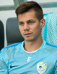 Miha Zajc of Slovenia during football match between National teams of Slovenia and Malta in Round #6 of FIFA World Cup Russia 2018 qualifications in Group F, on June 10, 2017 in SRC Stozice, Ljubljana, Slovenia. Photo by Vid Ponikvar / Sportida