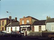 old dublin street photos Golden Goose Grocer december 1983 Old amateur photos of Dublin streets churches, cars, lanes, roads, shops schools, hospitals