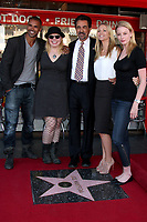 4/29/2011 Shelmar Moore, Kirsten Vangsness, A.J. Cook and Rachel Nicholes join Joe Mantegna during his Hollywood Walk of Fame Ceremony