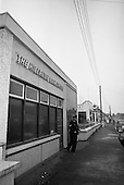 1965 - Hibernian Bank sub-office at Dunshaughlin. Co Meath.  C476.
