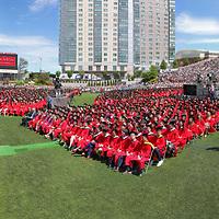 2016 Boston University Commencement, Boston University 2016 Boston University Commencement captured in a high-resolution photography image.