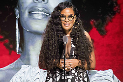 August 6, 2017 - New Jersey, U.S - CEO and Founder of the 2017 Black Girls Rock awards show BEVERLY BOND. Black Girls Rock 2017 was held at the New Jersey Performing Arts Center in Newark New Jersey. (Credit Image: © Ricky Fitchett via ZUMA Wire)
