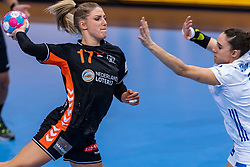 14-12-2018 FRA: Women European Handball Championships France - Netherlands, Paris<br /> Second semi final France - Netherlands / Nycke Groot #17 of Netherlands