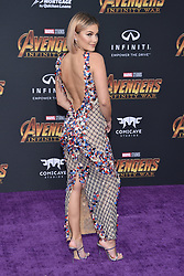 Olivia Holt attends the World Premiere of Avengers: Infinity War on April 23, 2018 in Los Angeles, California. Photo by Lionel Hahn/ABACAPRESS.COM