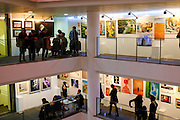The annual bank hapoalim art exhibition in Tel Aviv
