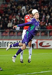 14-04-2010 VOETBAL: FC UTRECHT - FC GRONINGEN: UTRECHT<br /> Jan Wuytens en Tim Matvz<br /> ©2010-WWW.FOTOHOOGENDOORN.NL