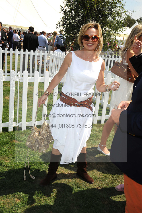 COUNTESS MAYA VON SCHONBURG ZU GLAUCHAU & WALDENBURG at the Cartier International Polo at Guards Polo Club, Windsor Great Park on 27th July 2008.<br /> <br /> NON EXCLUSIVE - WORLD RIGHTS