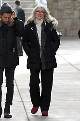 Blythe Danner keeps warm at the Sundance film festival in a winter jacket. 25 Jan 2018 Pictured: Blythe Danner. Photo credit: Atlantic Images/ MEGA TheMegaAgency.com +1 888 505 6342