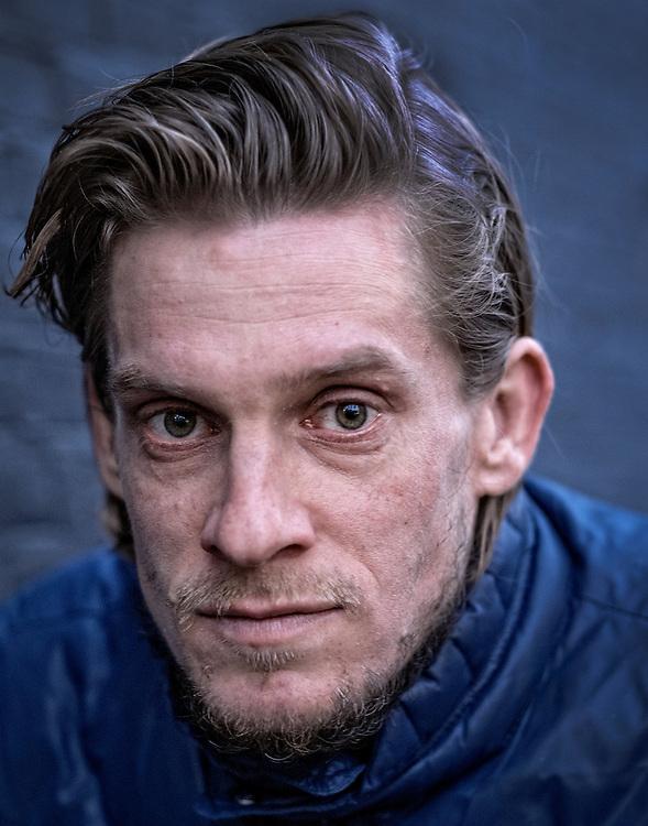 Netherland. Amsterdam, 23-02-2016. Photo: Patrick Post.  Portrait of Thijs Zonneveld.