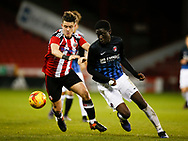 during the U18 Professional Development League 2 play off semi final match at  Bramall Lane, Sheffield. Picture date: April 21st 2017. Pic credit should read: Simon Bellis/Sportimage