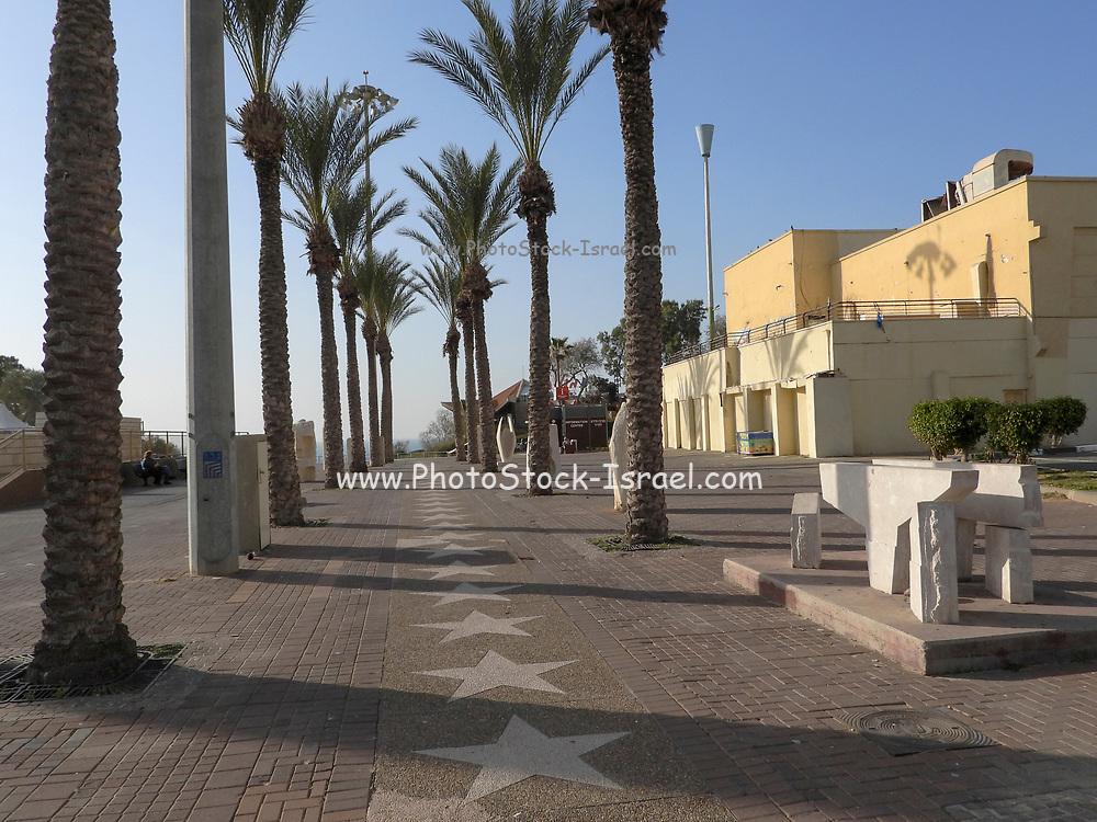 The pedestrian street, Netanya, Israel