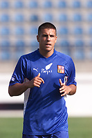 Fotball, Liverpool's new signing Milan Baros of the Czech Republic training at the Drnovice Stadium ahead of his country's friendly against South Korea.  (Foto: Digitalsport).