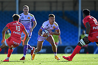 Rugby Union - 2019 / 2020 Heineken Cup - Semi-final - Exeter Chiefs vs Toulouse<br /> <br /> Exeter Chiefs' Henry Slade in action during this afternoon's game, at Sandy Park.<br /> <br /> COLORSPORT/ASHLEY WESTERN