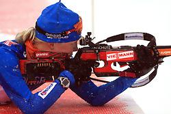 Kaisa Makarainen (FIN) at Women 15 km Individual at E.ON Ruhrgas IBU World Cup Biathlon in Hochfilzen (replacement Pokljuka), on December 18, 2008, in Hochfilzen, Austria. (Photo by Vid Ponikvar / Sportida)