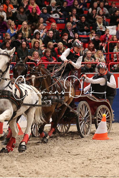Ulrich Werner (GER)<br /> Stockholm International Horse Show 2012<br /> © Hippo Foto - Peter Zachrisson