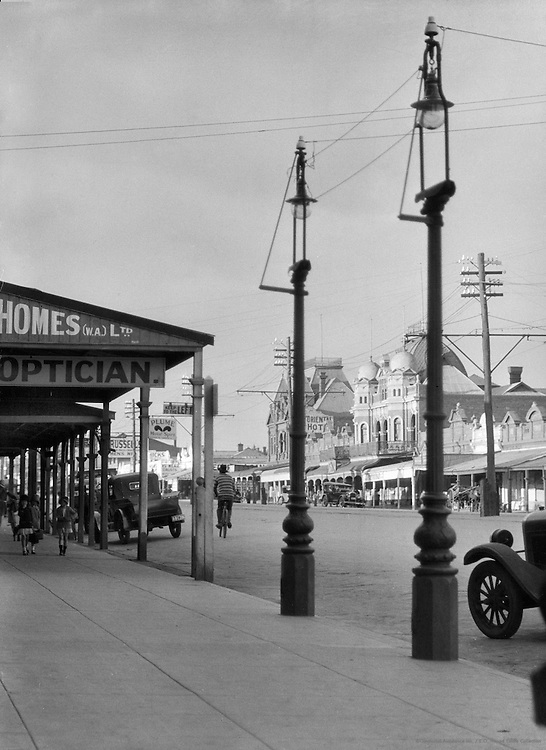 Main Street, Kalgoorlie,  Western Australia, 1930