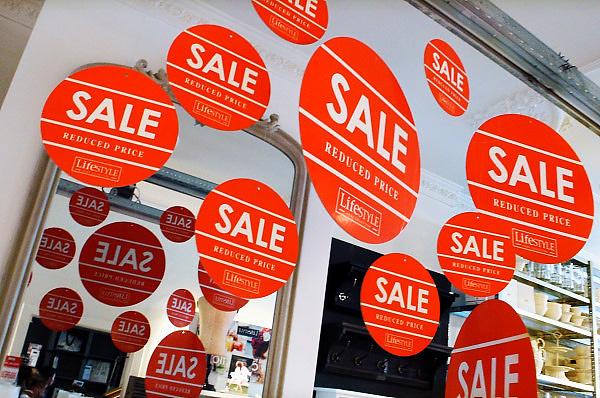 Nederland, Arnhem, 3-8-2010Een winkel voor woonaccesoires, Lifestyle, houdt uitverkoop.Foto: Flip Franssen/Hollandse Hoogte
