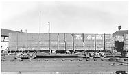 Side view of D&RGW high-side gondola #9274 at Alamosa.<br /> D&RGW  Alamosa, CO  Taken by Richardson, Robert W. - 3/1952