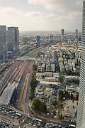 Elevated view of Tel Aviv, Israel
