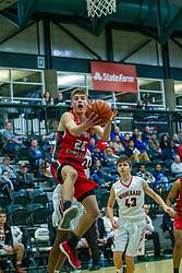 28 December 2019: State Farm Holiday Classic Coed Basketball Tournament , Normal-Bloomington Illinois<br /> <br /> Aurora Christian Eagles v Winnebago Indians boys basketball