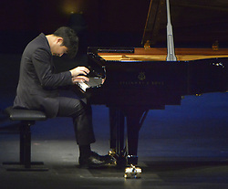 June 3, 2017 - Fort Worth, TX, USA - Yekwon Sunwood of South Korea performs in the semifinal concert 4-recital during the 15th Van Cliburn International Piano Competition at Bass Hall in Fort Worth, Texas, on Saturday, June 3, 2017. (Credit Image: © Max Faulkner/TNS via ZUMA Wire)