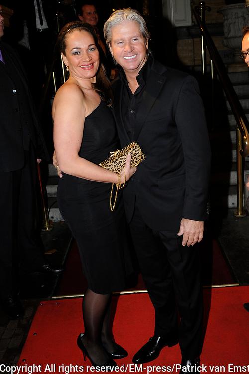 Uitreiking Beau Monde Awards in het Amstel Hotel, Amsterdam.<br /> <br /> Op de foto:  Dries Roelvink