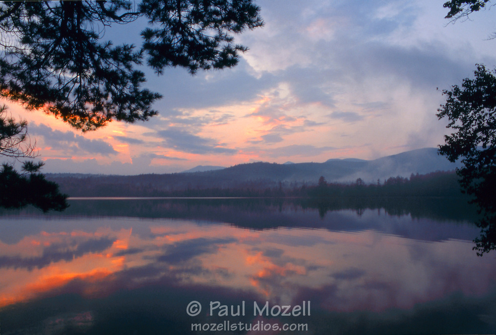 Chocorua Lake in the White Mountain National Forest has been a favorite subject for artists and photographers since the 1850's