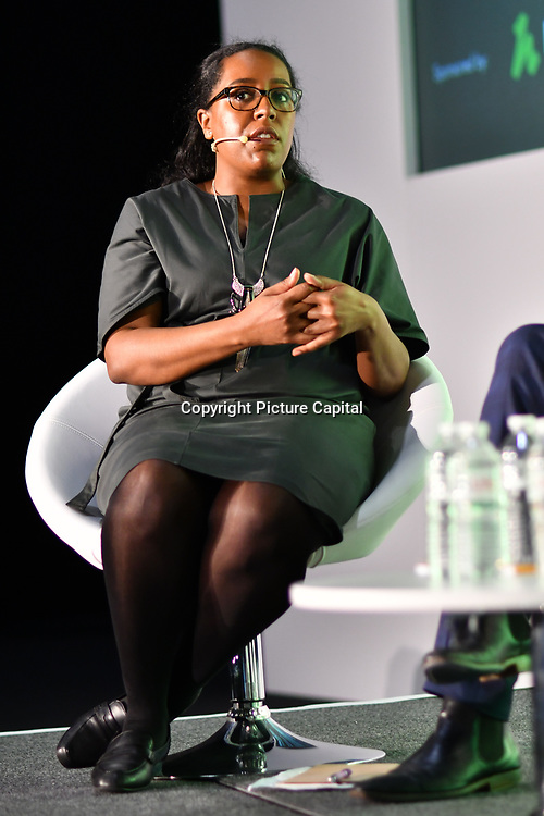 Spearkers Amina Ali, Head of Evidence and Impact at Rethink Mental Illness of Prevention not cure - what is the role of personalised care?  at Elevate 2019 on 8 May 2019, at Excel London, UK.