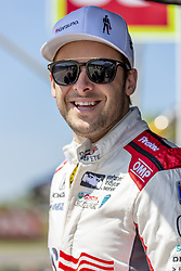 April 21, 2018 - Birmingham, Alabama, United States of America - MARCO Andretti (98) of the United States waits for a practice session for the Honda Indy Grand Prix of Alabama at Barber Motorsports Park in Birmingham Alabama. (Credit Image: © Walter G Arce Sr Asp Inc/ASP via ZUMA Wire)