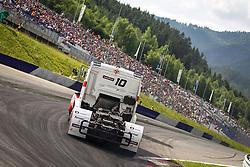 06.07.2013, Red Bull Ring, Spielberg, AUT, Truck Race Trophy, Renntag 1, im Bild Norbert Kiss, (HUN, Oxxo Energy Truck Race Team, #10, 2. Platz) // during the Truck Race Trophy 2013 at the Red Bull Ring in Spielberg, Austria, 2013/07/06, EXPA Pictures © 2013, PhotoCredit: EXPA/ M.Kuhnke