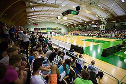 Arena Zlatorog during basketball match between KK Zlatorog and KK Helios Suns in 1st match of Nova KBM Slovenian Champions League Final 2015/16 on May 29, 2016  in Dvorana Zlatorog, Lasko, Slovenia.  Photo by Ziga Zupan / Sportida