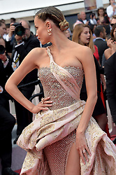 Natasha Poly attending the Oh Mercy! premiere, during the 72nd Cannes Film Festival