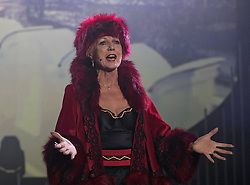 The Pleasance Edinburgh Fringe Festival launches its 2016 programme hosted by comedian Susan Calman<br /> <br /> Pictured: Eurobeat starring Rula Lenska and Lee Latchford-Evans