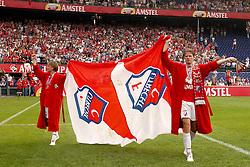 01-06-2003 NED: Amstelcup finale FC Utrecht - Feyenoord, Rotterdam<br /> FC Utrecht pakt de beker door Feyenoord met 4-1 te verslaan met Patrick Zwaanswijk