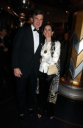 PRINCE & PRINCESS KARL VON AUERSPERG-BREUNNER at Andy & Patti Wong's annual Chinese New year Party, this year to celebrate the Year of The Pig, held at Madame Tussauds, Marylebone Road, London on 27th January 2007.<br /><br />NON EXCLUSIVE - WORLD RIGHTS