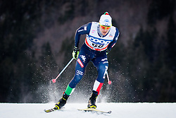 Noeckler Dietmar (ITA) during Man 1.2 km Free Sprint Qualification race at FIS Cross<br /> Country World Cup Planica 2016, on January 16, 2016 at Planica,Slovenia. Photo by Ziga Zupan / Sportida