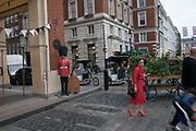 Covent Garden, London,  Monday, August 27 2018