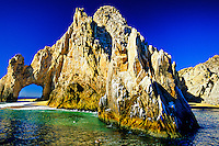 El Arco (The Arch), Land's End between the Sea of Cortes and the Pacific Ocean, Los Cabos, Baja Peninsula, Mexico