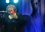New York, NY- May 22: Recording Artist Mavis Staples performs during the Gordon Parks Foundation Awards Dinner & Auctionn: Celebrating the Arts & Humanitarianism held at Cipriani 42nd Street on May 22, 2018 in New York City.   (Photo by Terrence Jennings/terrencejennings.com)