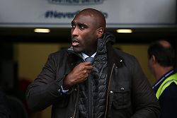 Southend United manager Sol Campbell - Mandatory by-line: Arron Gent/JMP - 27/10/2019 - FOOTBALL - Roots Hall - Southend-on-Sea, England - Southend United v Ipswich Town - Sky Bet League One