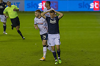 Football - Sky Bet Championship - Millwall vs Luton Town - The Den<br /> <br /> Jed Wallace (Millwall FC) after missing a golden opportunity to score<br /> <br /> COLORSPORT/DANIEL BEARHAM