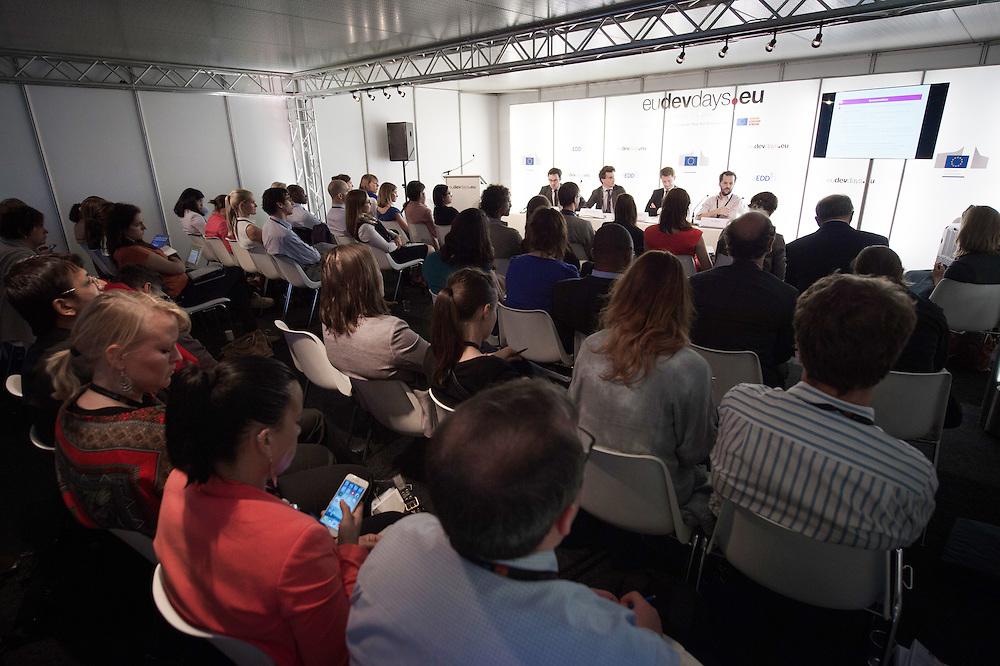 03 June 2015 - Belgium - Brussels - European Development Days - EDD - Social business: A new model for sustainable development? © European Union