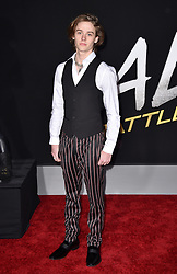 Britain Dalton attends the Premiere Of 20th Century Fox's 'Alita: Battle Angel' at Westwood Regency Theater on February 05, 2019 in Los Angeles, CA, USA. Photo by Lionel Hahn/ABACAPRESS.COM