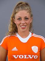 UTRECHT - Laura Nunnink.  Jong Oranje meisjes -21 voor EK 2014 in Belgie (Waterloo). COPYRIGHT KOEN SUYK