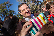 Supporters of Senator and GOP presidential candidate Ted Cruz take camera phone pictures during a campaign event at Ottawa Farms December 19, 2015 in Bloomingdale, Georgia.