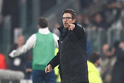 December 23, 2017 - Turin, Italy - Roma coach Eusebio Di Francesco during the Serie A football match n.18 JUVENTUS - ROMA on 23/12/2017 at the Allianz Stadium in Turin, Italy. (Credit Image: © Matteo Bottanelli/NurPhoto via ZUMA Press)