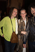 SARAH LUCAS; PAULINE DALY; RICHARD RILEY, Sarah Lucas- Scream Daddio party hosted by Sadie Coles HQ and Gladstone Gallery at Palazzo Zeno. Venice. 6 May 2015.