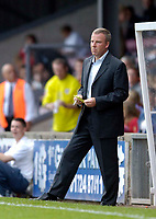 Photo: Jed Wee.<br /> Scunthorpe United v Swansea City. Coca Cola League 1. 08/08/2006.<br /> <br /> Swansea manager Kenny Jackett.